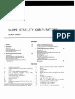Slope Stability Computations (Janbu, 1973)