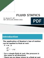 II. Fluid Statics
