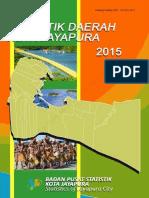 Statistik Daerah Kota Jayapura 2015