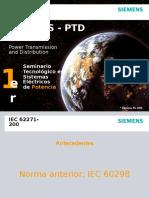 WS PTD 2007 - Norma IEC 62271-200
