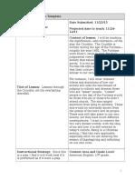 ed 285 individual lesson plan-- crucible