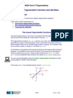 Trigonometric Functions & Identities