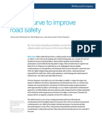 A Cost Curve to Improve Road Safety