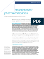 A Digital Prescription for Pharma Companies