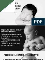 Atención y Preparación Del Recién Nacido