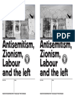 Antisemitism, Zionism, Labour and the Left A5 mtg tmp
