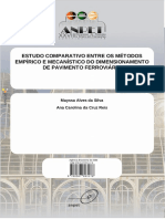 Silva - Estudo Comparativo Entre Os Métodos Empírico e Mecanístico Do Dimensionamento de Pavimento Ferroviário
