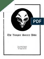 IV - The Vampire Sorcery Bible