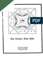 V - The Vampire Adept Bible