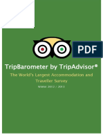TripBarometer by TripAdvisor - The World's Largest Accommodation and Traveller Survey  Winter 2012 / 2013 TripBarometer by TripAdvisor®