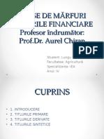 titlurile financiare 2003