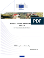 European Tourism Indicator System TOOLKIT  For Sustainable Destinations