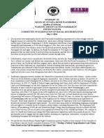 Algonquin CERD Summary May 3 16