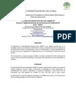 Diseño e Implementación de Un Sistema de Telefonía IP Para UEES