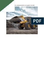 Modelamiento y Simulación MEF de Cargador CAT 994F