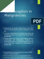 Contraception in Malignancies.pptx
