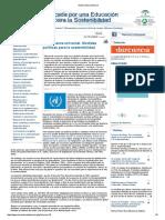 Gobernanza universal. Medidas políticas para la sostenibilidad