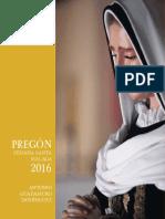 Pregon Semana Santa Malaga 2016