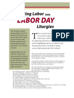 Putting Labor Into Labor Day Liturgies