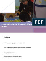 Syllabus Geography f3opt 2013 2014