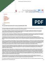 ICT presentó Plan Nacional de Turismo Sostenible 2010- 2016