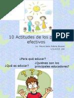 10 Actitudes de los padres efectivos.pptx
