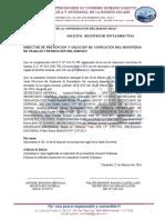 Registro de Junta Directiva