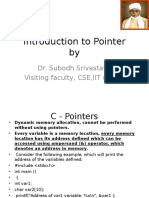 Introduction to Pointer in C