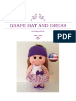 Grape Hat and Dress