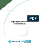 Livro Proprietário - Legislação Trabalhista e Previdênciária