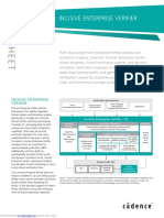 Incisive Enterprise Verifier Datasheet
