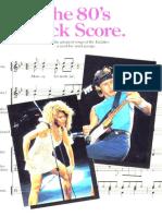 The 80's Rock Score