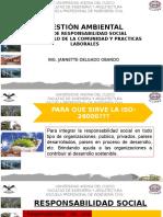 GESTIÓN AMBIENTAL NORMA ISO 26000