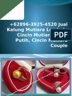 +62896-3925-4520 Jual Mutiara Air Tawar, Aksesoris Mutiara Untuk Hijab, Harga Mutiara Lombok