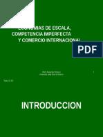 Economia a Escala y Comercion Intraindustrial