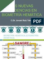 Ponencia Las Nuevas Tendencias en Biometría Hemática