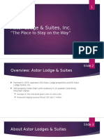 Astor Lodge & Suites, Inc CASE