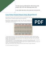 Tutorial Project Board