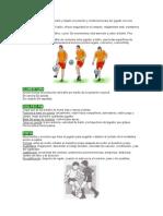 Técnicas y Tácticas Del Fútbol