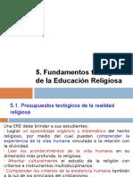 Filo 6. Fundamento Teológico de La Educación