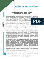 Pedimos la paralización de la fusión de los centros educativos en Oviedo