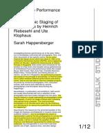 Stedelijk Studies Icons of the Performance Still PDF