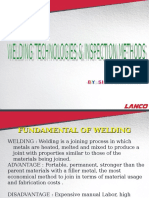 Welding  Technology & Inspection Method.ppt