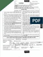 Code y Question Paper