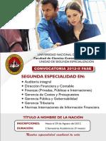 UNSA Cursos 2da Especialidad.