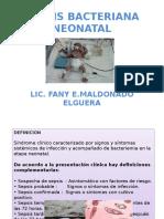 Sepsis Bacteriana Neonatal