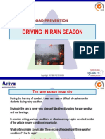 Driving in Rain Season