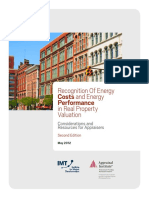 Recognition of Energy Costs & Energy Performance in Real Property Valuation (2012)
