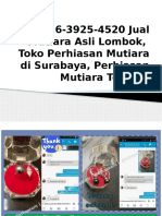 +62896-3925-4520 Jual Mutiara Asli Lombok,  Toko Perhiasan Mutiara di Surabaya, Perhiasan Mutiara Terbaru