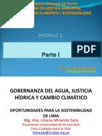 1.3 Governanza del agua, justicia hídrica y CC, OPORTUNIDADES PARA LA SOSTENIBILIDAD DE LIMA, Miranda (1).pdf